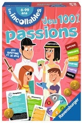 JEU INCOLLABLES -100% PASSION