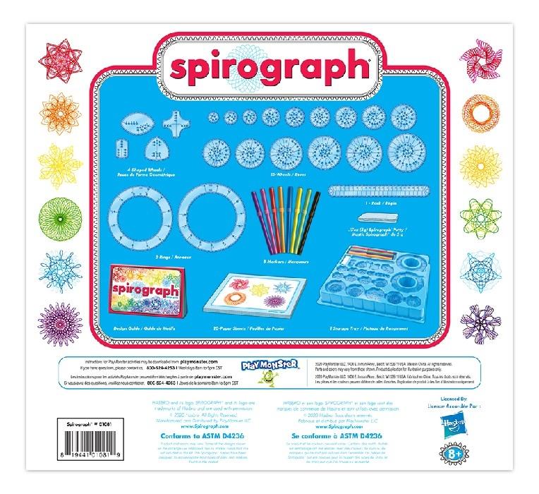 SPIROGRAPHE - ENSEMBLE DE DESSINS