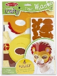 M&D - SIMPLY CRAFTY - MASQUES D'ANIMAUX SAFARI