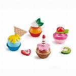 HAPE - CUPCAKES DE BOIS