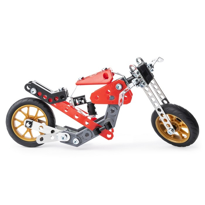 MECCANO - MOTO DE COURSE STREET FIGHTER 5 EN 1