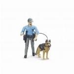 BRUDER - POLICIER AVEC CHIEN