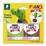 FIMO KIDS - CACTUS AMUSANT (84G)