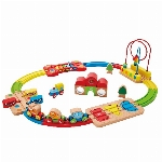 HAPE - ENS. DE TRAIN ARC-EN-CIEL