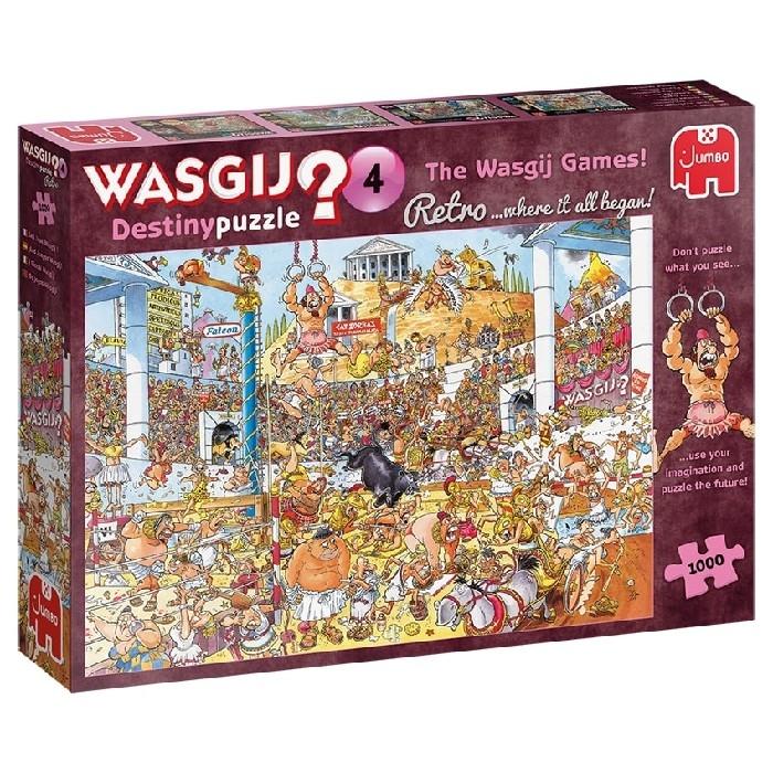 C-T - WASGIJ - DESTINY RÉTRO #4 - ODYSSÉE OLYMPIQUE (1000 MCX)