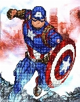 DIAMOND DOTZ - CAPITAINE AMERICA