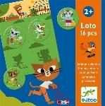 DJECO - LOTO ANIMAUX RIGOLOS