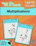 CARTES ÉCLAIR - 3E ANNÉE - MULTIPLICATIONS