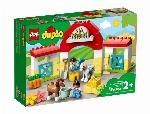 LEGO DUPLO - L'ÉCURIE ET LES PONEYS