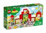 LEGO DUPLO - LA GRANGE, LE TRACTEUR ET LES ANIMAUX DE FERME