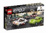 LEGO SPEED CHAMPIONS - PORSCHE 911 RSR ET 911 TURBO