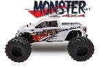 LITEHAWK - MONSTER 4X4 - ROUGE/BLANC