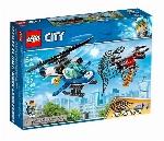 LEGO CITY - POLICE DU CIEL ET POURSUITE DU DRÔNE
