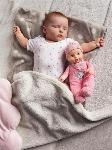 BABY ANNABELL - NOUVEAU-NÉ HEARTBEAT (30CM)