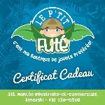 Certificat-cadeau Futé
