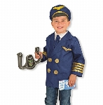 M&D - COSTUME DE PILOTE D'AVION